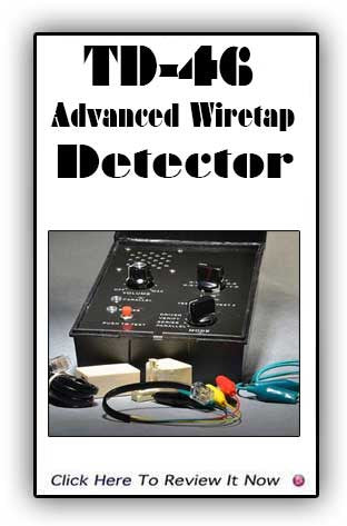 Advanced Wiretap Detector