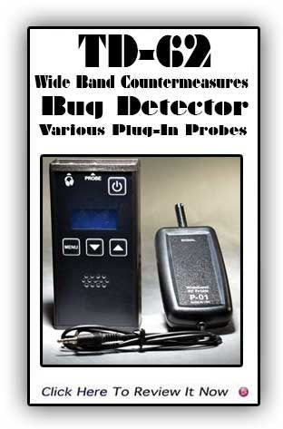 Just Updated! Wide Band Transmitter Detector - TD-62