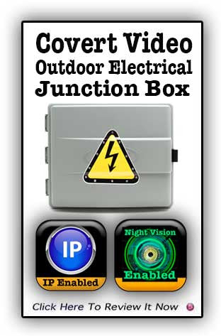 JunctionBox: Bush Baby IP 2 Outdoor Junction Box with Night Vision