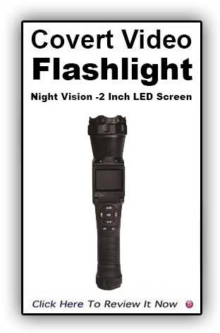 FLASHLIGHT CAMCORDER WITH IR NIGHT VISION!