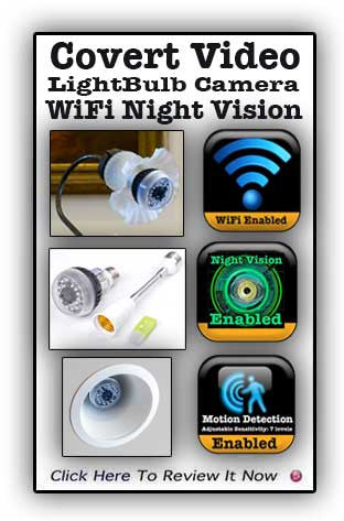 HCWifiBulb: High Definition Night Vision Bulb Camera with Wifi*