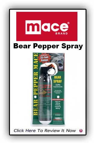 Bear Pepper Mace Spray