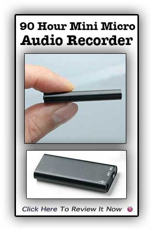 New RYL-Micro Professional 90 Hour Digital Voice Recorder