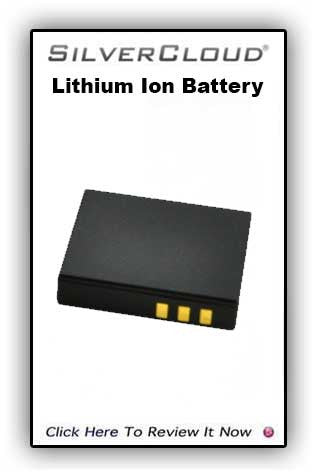 SilverCloud Lithium Ion Battery