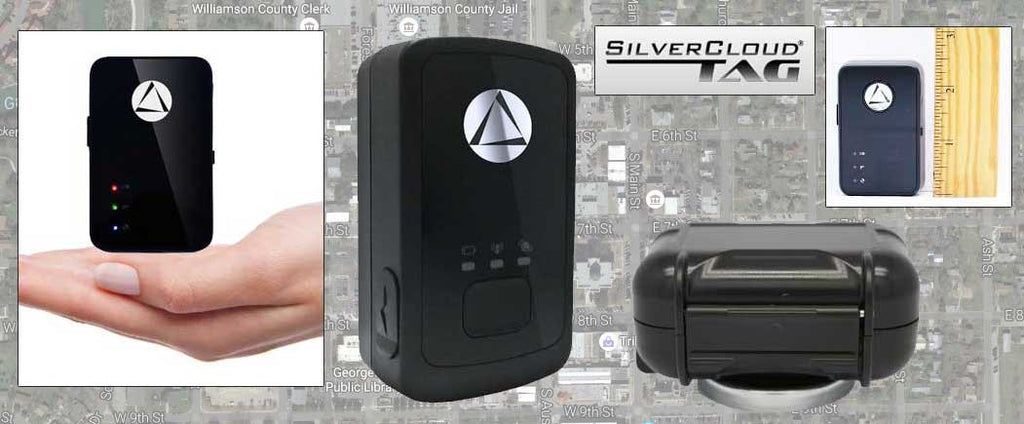 A Best Seller! Silver Cloud Tag GPS