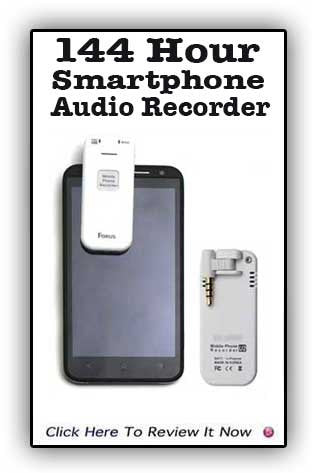 Smart Phone Audio Recorder