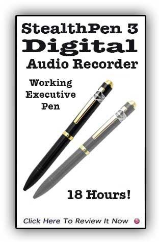 Stealth Pen 3 Audio Recorder