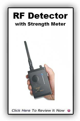 Bug Detector with Strength Meter