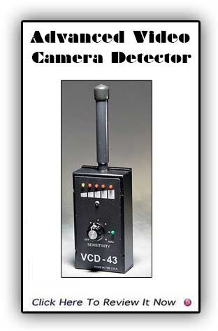 VCD-43 Adanced Video Camera Detector