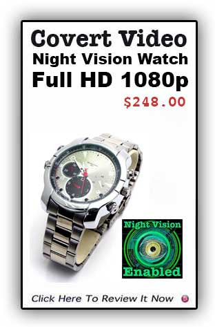 Covert Video Night Watch With Night Vision