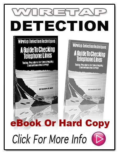 WIRETAP DETECTION TECHNIQUES E-Book!
