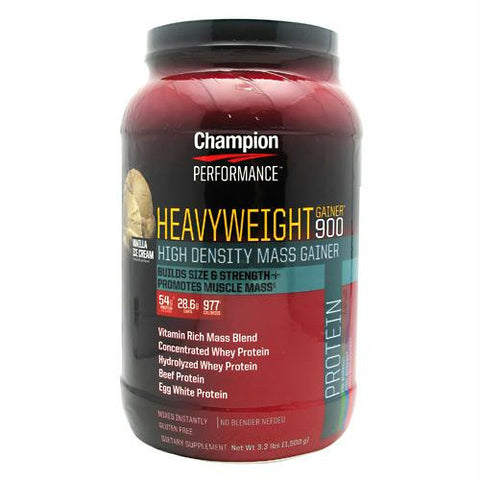 Champion Nutrition Heavyweight Gainer 900 Vanilla Shake