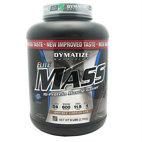 Dymatize Elite Mass Double Chocolate