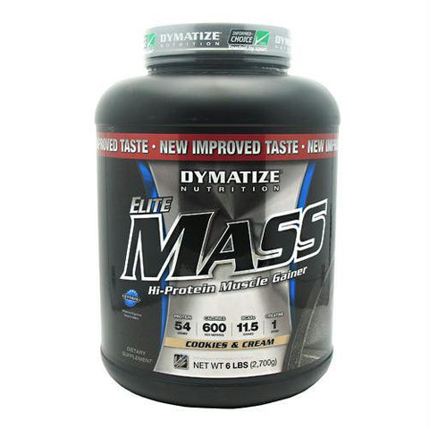 Dymatize Elite Mass Cookies And Cream