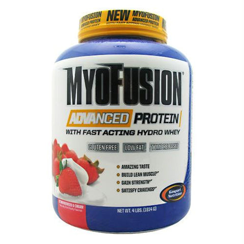 Gaspari Nutrition Myofusion Advanced Protein Strawberries & Cream - Gluten Free