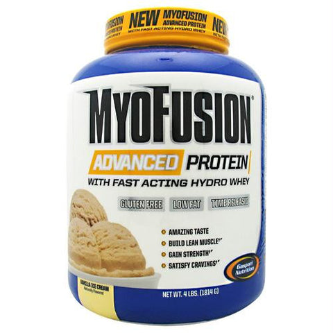 Gaspari Nutrition Myofusion Advanced Protein Vanilla - Gluten Free