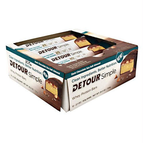 Forward Foods Detour Simple Detour Simple Dark Chocolate Sea Salt Almond - Gluten Free
