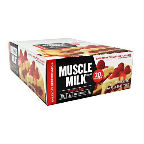 Cytosport Red Muscle Milk Bar Raspberry Cheesecake - Gluten Free