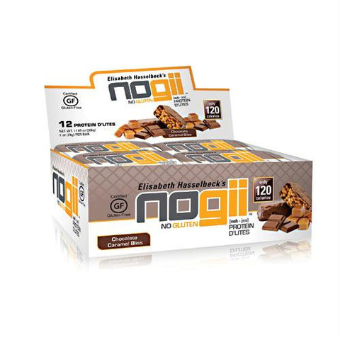 Nogii Protein D'lites Chocolate Caramel Bliss - Gluten Free