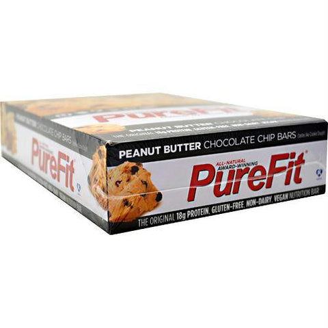 Purefit Nutrition Bar Peanut Butter Chocolate Chip - Gluten Free