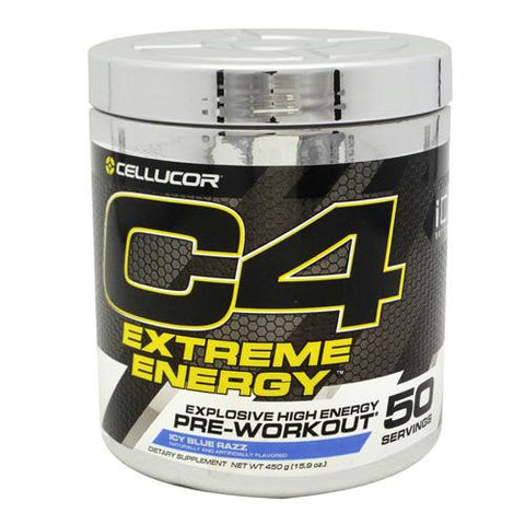 Cellucor Id Series C4 Extreme Energy Icy Blue Razz