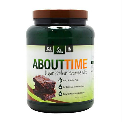 Sdc Nutrition About Time Vegan Protein Brownie Mix Brownie Mix - Gluten Free