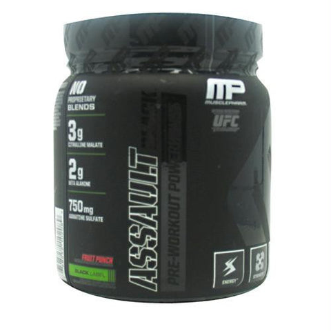 Muscle Pharm Black Series Assault Black Fruit Punch
