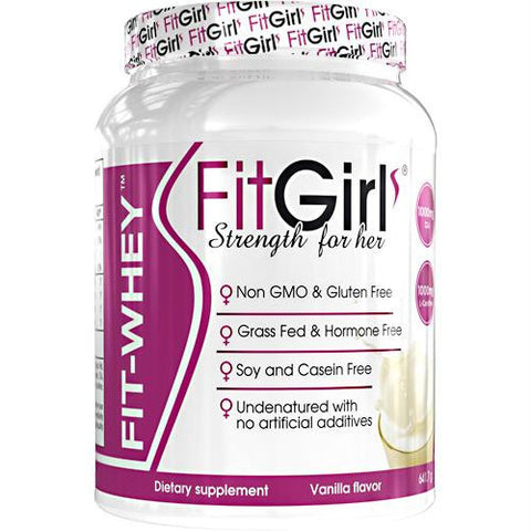 Fit Girl Fit-whey Vanilla - Gluten Free