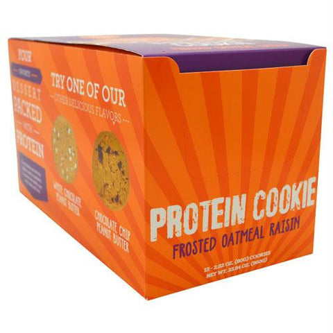 Buff Bake Protein Cookie Frosted Oatmeal Raisin - Gluten Free