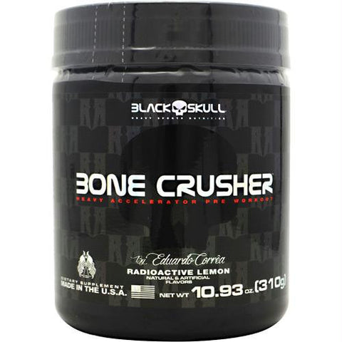 Black Skull Bone Crusher Radioactive Lemon