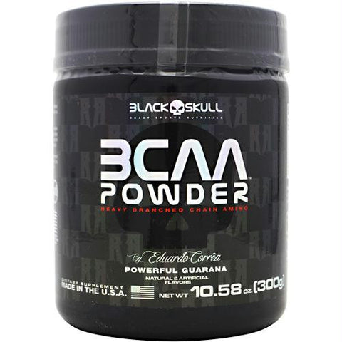 Black Skull Bcaa Powder Powerful Guarana