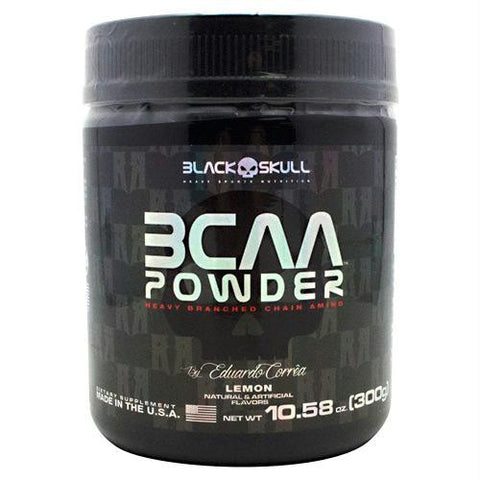 Black Skull Bcaa Powder Lemon