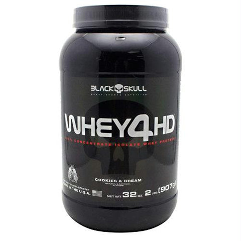 Black Skull Black Skull Whey4hd Cookies & Cream