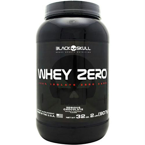 Black Skull Black Skull Whey Zero Serious Chocolate
