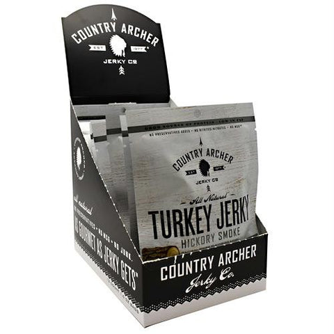 Country Archer Turkey Jerky Hickory Smoke - Gluten Free