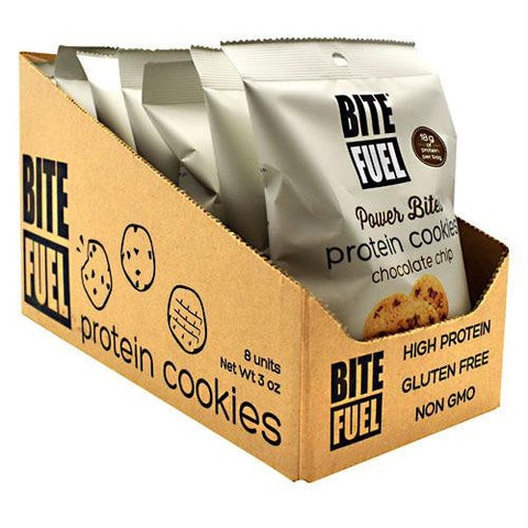 Bite Fuel Power Bites Chocolate Chip - Gluten Free