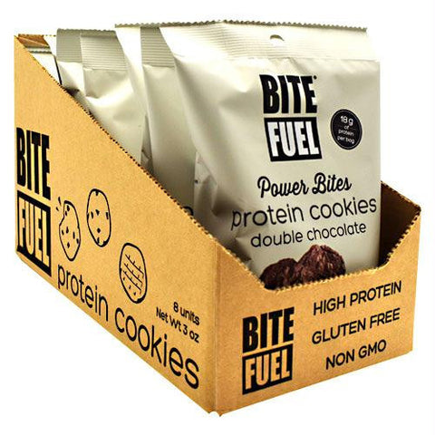 Bite Fuel Power Bites Double Chocolate - Gluten Free