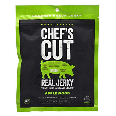 Chef's Cut Real Jerky Real Bacon Jerky Applewood - Gluten Free