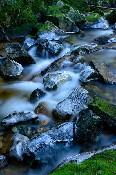 Flowing Home - River Photography at Roberts Creek, BC, Canada by Nature Photographer Shel Neufeld
