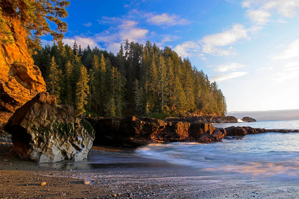 Sombrio Beach Canada - Coastal Wall Art by Shel Neufeld of WildArt Photography
