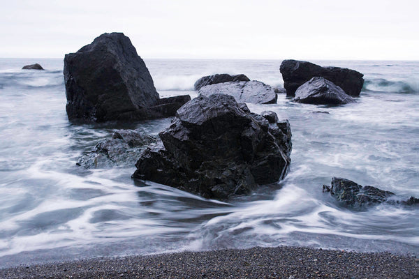 Coastal Wall Art Fine Art photograph of Sombrio Beach, Vancouver Island, Canada by Nature photographer Shel Neufeld