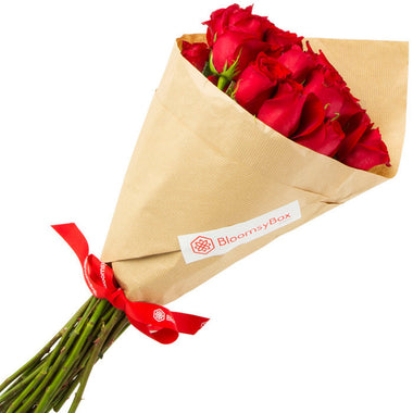 Romance (Single Variety Hand-Tied Bouquets) - BloomsyShop.com