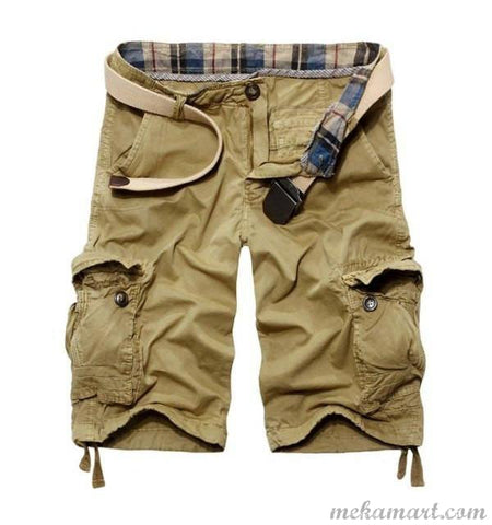 Men Casual Cargo Shorts
