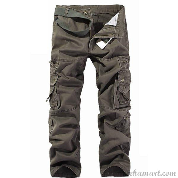 Men's Muiti-pockets Cargo Pants