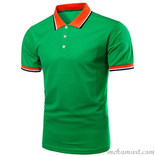 Men's Colour Block Polo Shirt (Men & Boys)