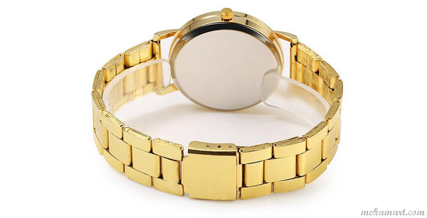 Business Style Gold Watch For Men
