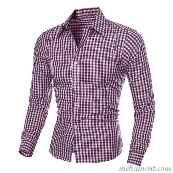 Men's Work or Smart Casual Long Sleeve Shirt