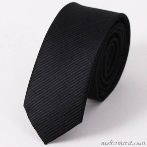 Tie Stylish Dark Color 5CM Width Tie for Men