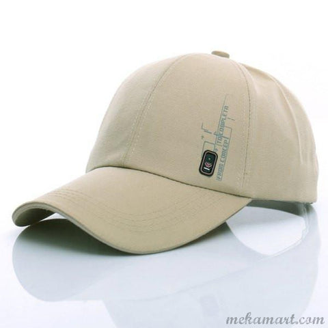 Hat Stylish Side Labeling Letter Pattern  Cap For Men & Boys