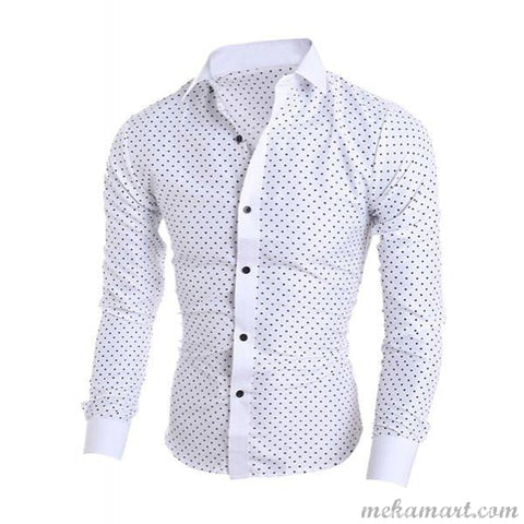 Men's Long Sleeve Stylish Formal Shirt